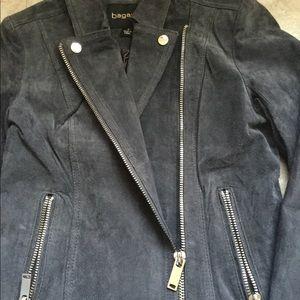 bagatelle Jackets & Coats - Bagatelle Leather suede gray women's jacket size 4